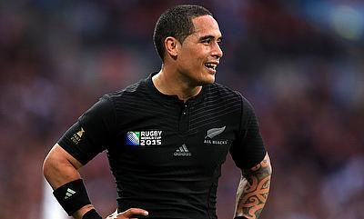 Aaron Smith scored the opening try for New Zealand