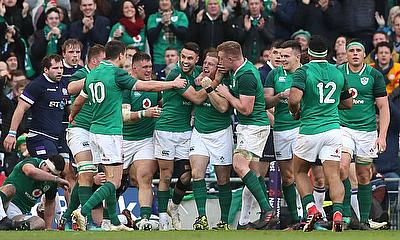 Ireland have two wins from three games in the Six Nations