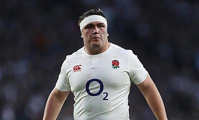 Jamie George will make his 50th Test appearance for England against Italy
