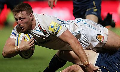 Sam Simmonds was impressive for Exeter