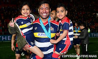 Siale Piutau was one of Bristol's try-scorer