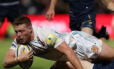 Sam Simmonds continued to be impressive for Exeter Chiefs
