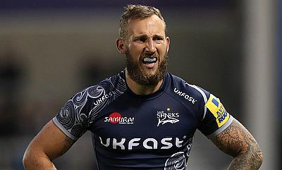 Byron McGuigan scored the opening try for Sale Sharks