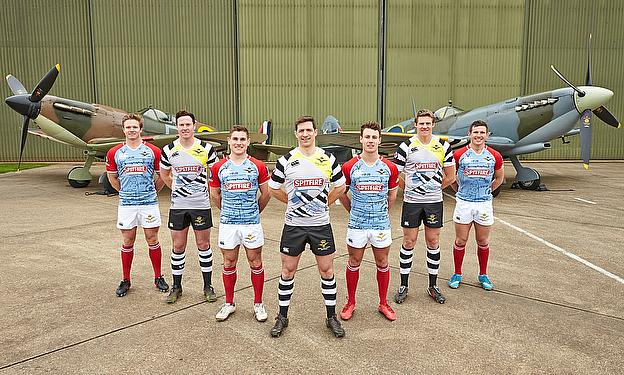 Canterbury Unveils New RAF Spitfires Rugby 7s Spitfires Kit for 2014
