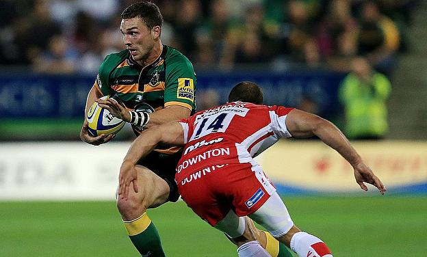George North beats Gloucester's Charlie Sharples