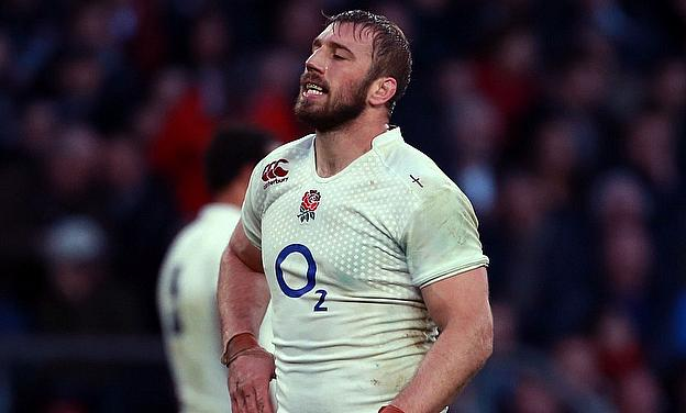 England captain Chris Robshaw has a shoulder injury</DataContent>