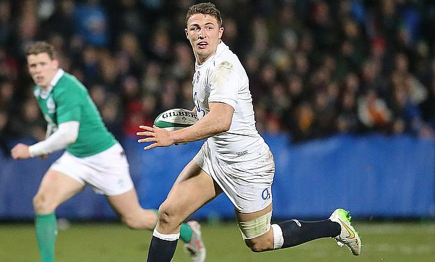 Sam Burgess struggled in England Saxons' victory