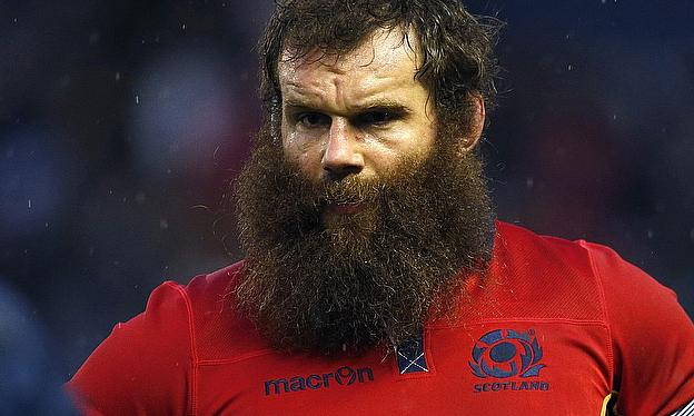 Geoff Cross before Tuesday's close shave