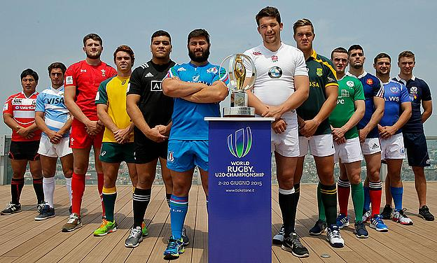 World Rugby U20s Championship in Italy