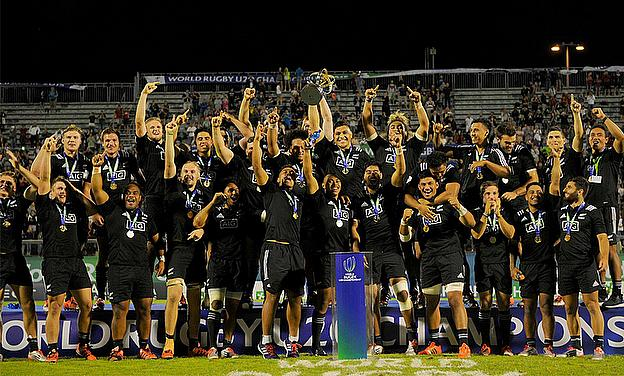 New Zealand were crowned U20s World Rugby Champions 2015
