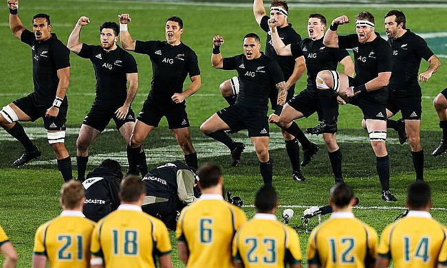 New Zealand performing their last #RWC2015