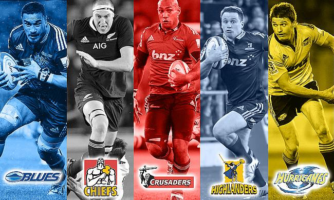 d94d28b1005 Super Rugby 2016 Preview: New Zealand. by Alex Shaw Monday 11 January 2016.  Jerome Kaino, Brodie Retalik, Naholo Nadolo, Ben Smith and Beauden Barrett