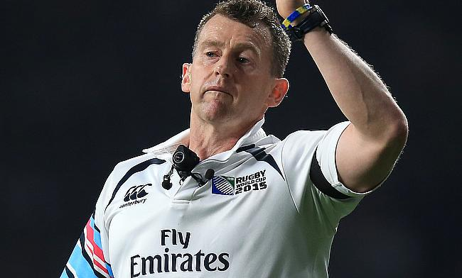 Referee Nigel Owens will signal the start of the 2019 World Cup