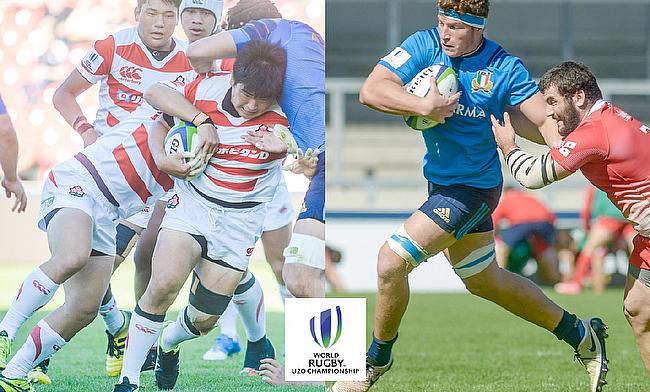 Japan and Italy face relegation from the U20s Championship