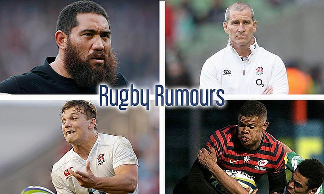 Charlie Faumuina, Stuart Lancaster, Nathan Earle and Will Evans
