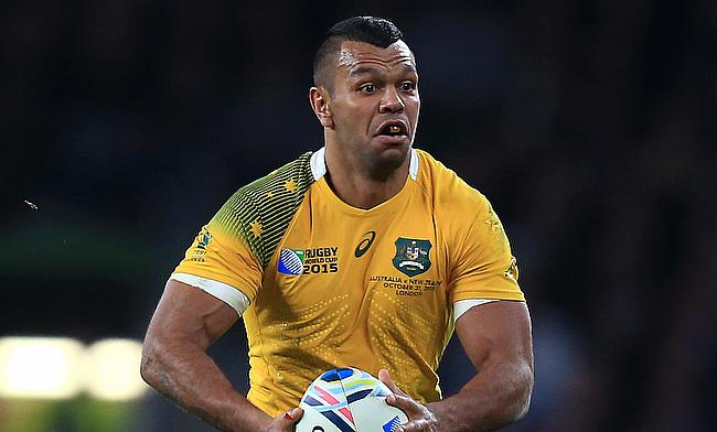 Australia international Kurtley Beale is recovering from a patella tendon injury