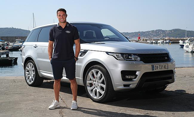 Dan Carter is excited to be part of Land Rover