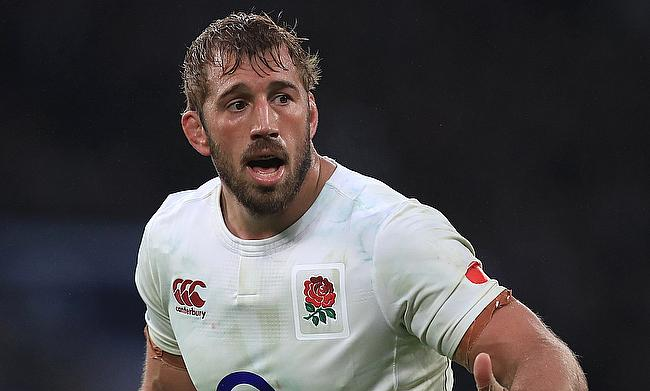 A shoulder injury could rule Chris Robshaw out of the Six Nations