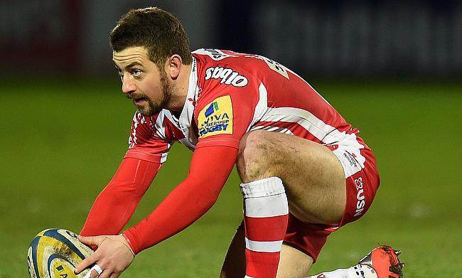 Greig Laidlaw kicked seven points for Gloucester