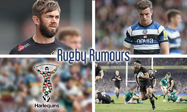 Geoff Parling, George Ford, Malakai Fekitoa and Harlequins