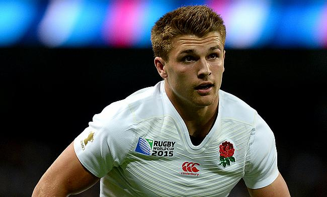 England's Henry Slade was among Exeter's try-scorers at Bristol