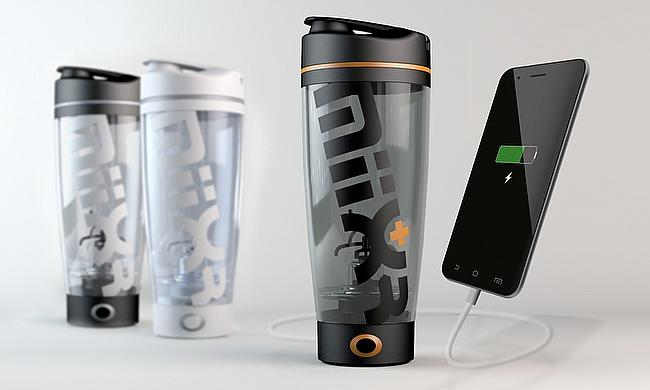 MiiXR: the vortex mixer that can charge your phone while you workout!