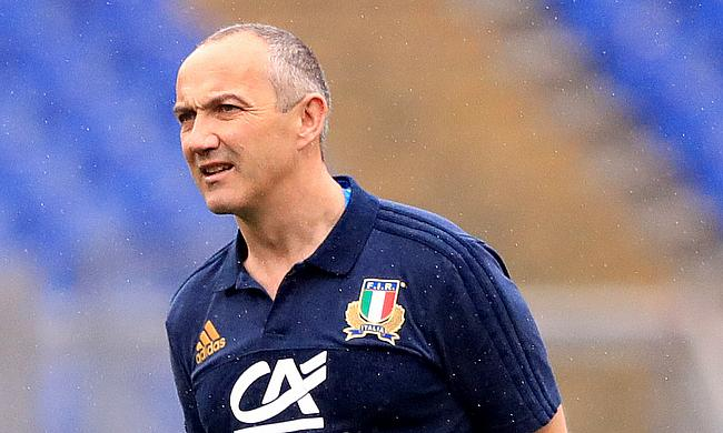 Conor O'Shea is about to pit Italy against his Irish countrymen