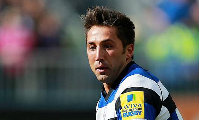 Gavin Henson scored all of Bristol's points against his old club Bath