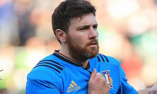 George Biagi will start for Italy against Scotland at Murrayfield