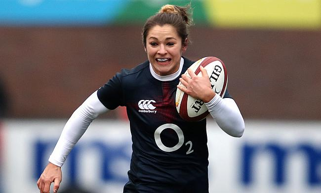Bristol's Amy Wilson Hardy will start on the wing for England