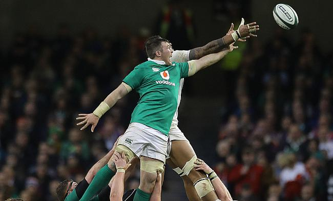 Peter O'Mahony was the stand out player for Ireland