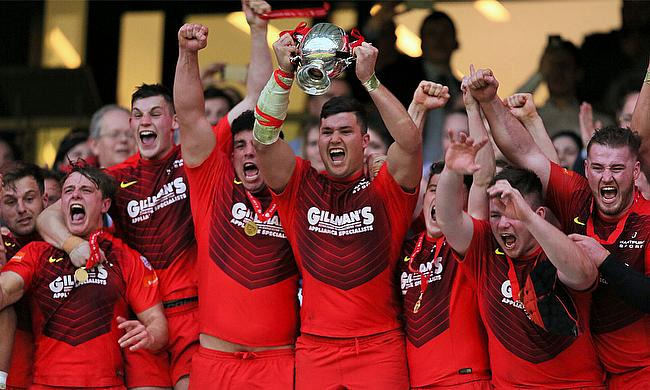 Hartpury College completed the league and cup double with victory over the University of Exeter at Twickenham