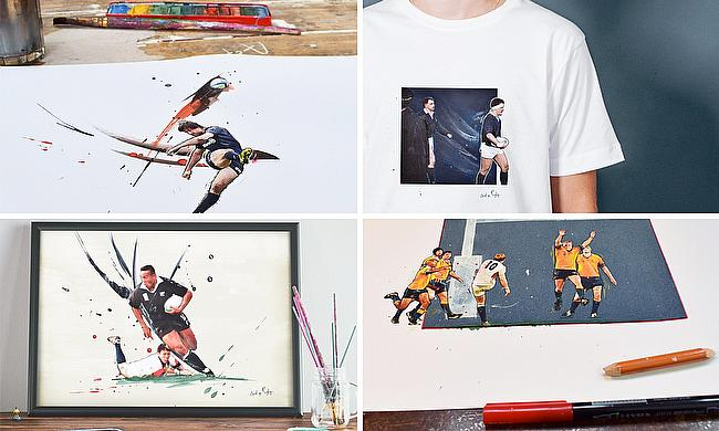 Art of Rugby T-Shirt giveaway
