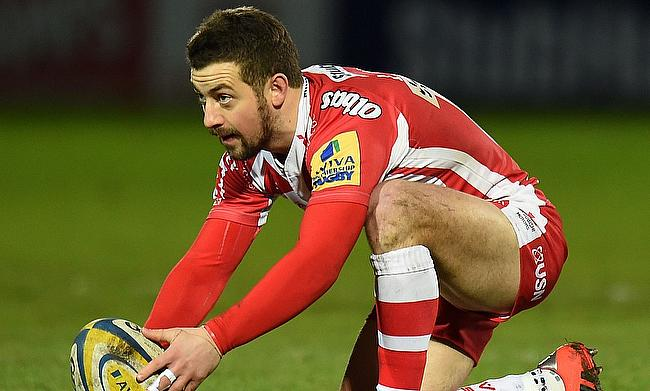 Greig Laidlaw has a chance to become Gloucester's leading point scorer in Challenge Cups
