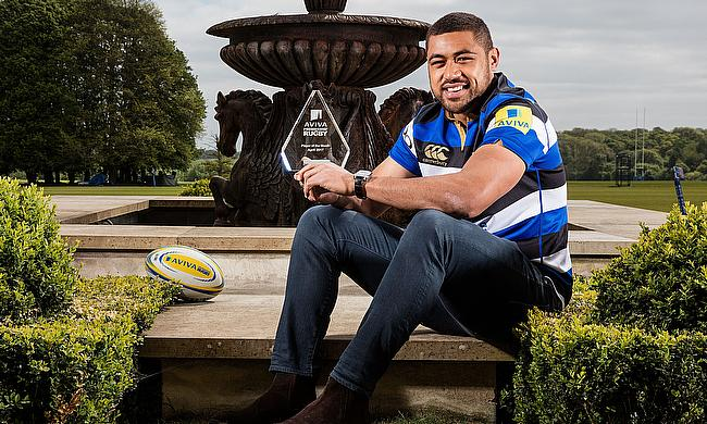 Aviva Premiership Rugby Player of the Month, Bath Rugby's Taulupe Faletau
