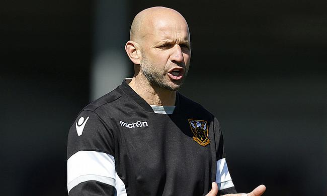 Jim Mallinder, pictured, is pleased with the signing of Francois van Wyk