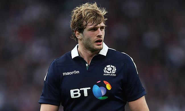 Richie Gray is out of Scotland's summer tour
