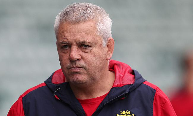 Warren Gatland has been caricatured in his homeland for a second time