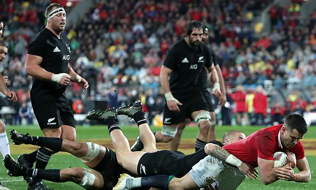 Conor Murray scored in the Lions' second Test victory