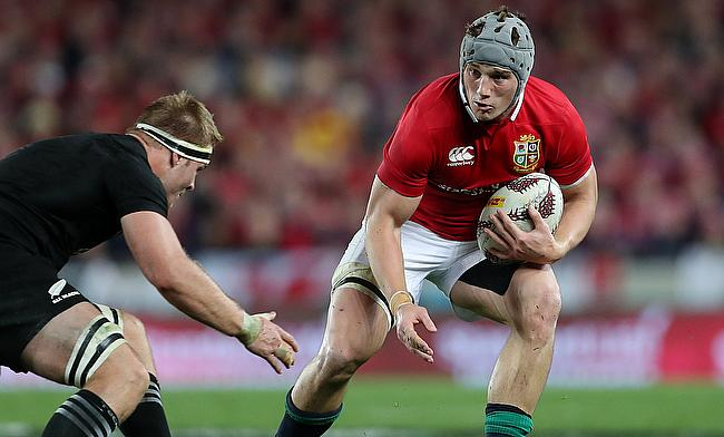 Jonathan Davies was the Lions' standout player