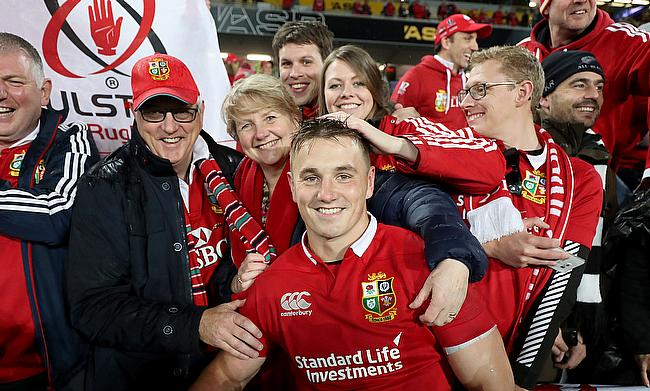 Jonathan Davies with his family