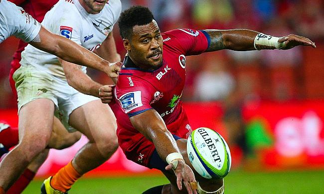 A gym injury has ruled Samu Kerevi out of Queensland's final Super Rugby match