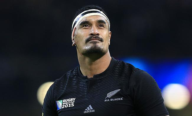 Jerome Kaino was sin-binned for Blues in the second half