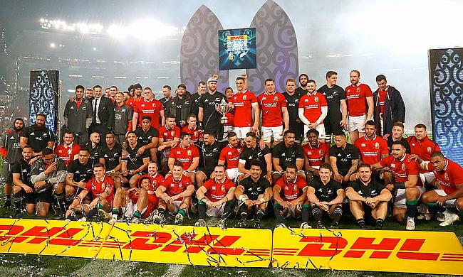 New Zealand with the British and Irish Lions