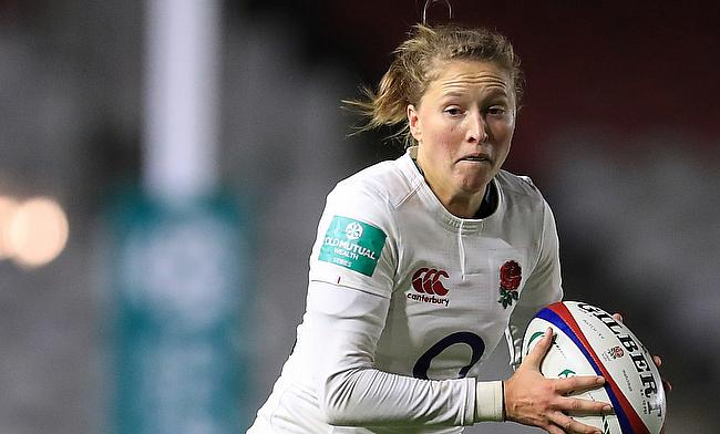 Emily Scott has suffered an injury and will therefore not travel with England for the women's World Cup