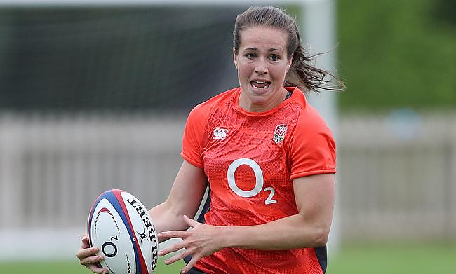 England will be looking to Emily Scarratt to produce the goods at the Women's Rugby World Cup