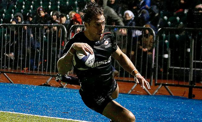 Chris Wyles scored two decisive tries for Saracens