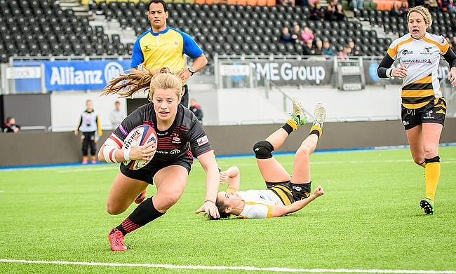 Saracens' women are unbeaten in all four of this season's games