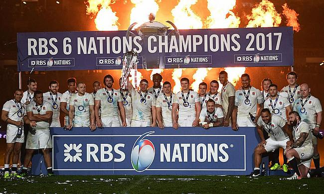England 2017 Six Nations Champions