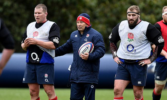 Eddie Jones can call on Dylan Hartley, left, but not Joe Marler, right, for England's first two autumn internationals